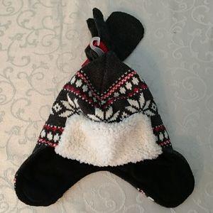 Osh Kosh B'gosh hat and mittens set 2T-4T